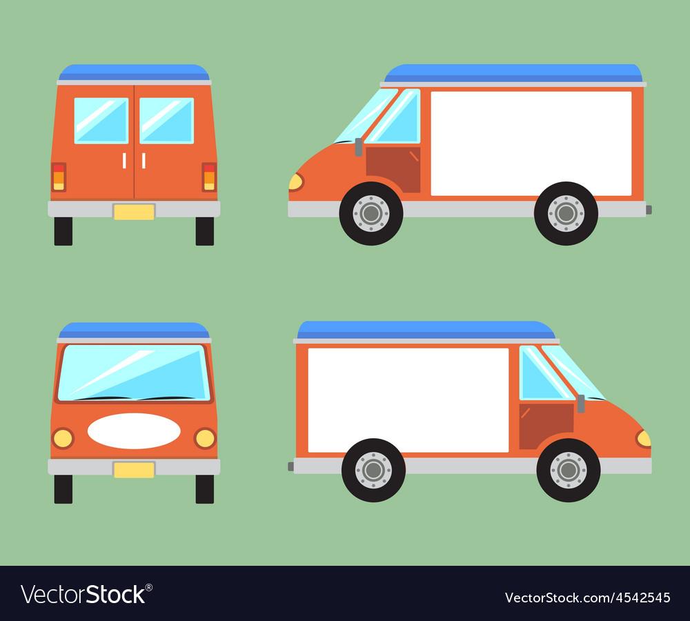 Van vector   Price: 1 Credit (USD $1)