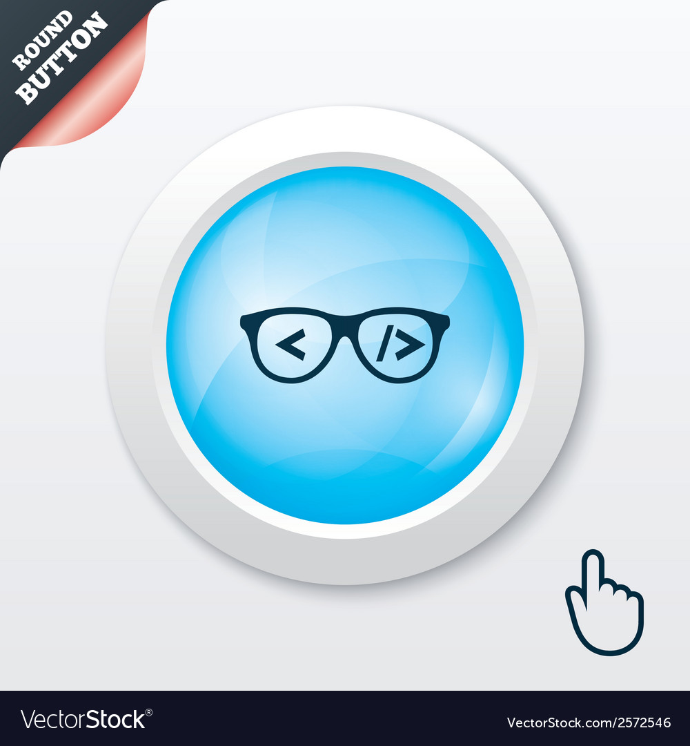 Coder sign icon programmer symbol vector | Price: 1 Credit (USD $1)