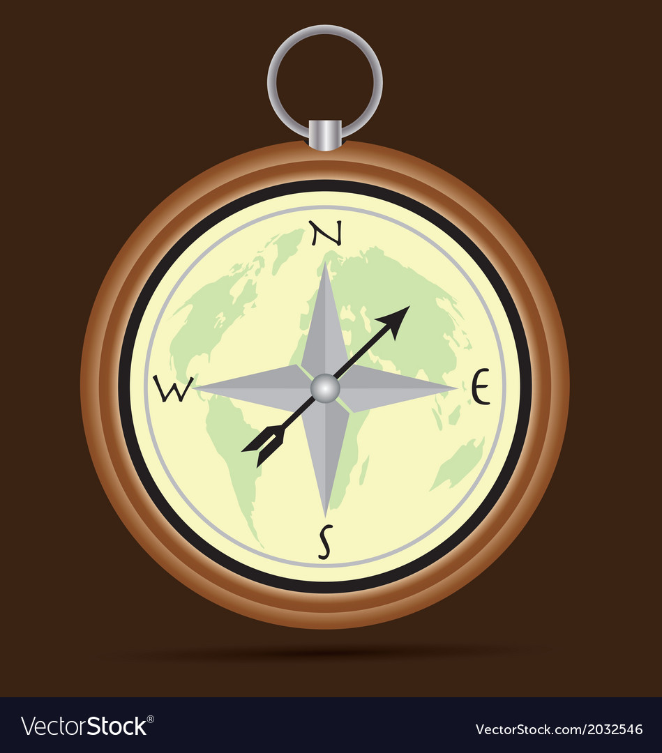 The compass vector | Price: 1 Credit (USD $1)