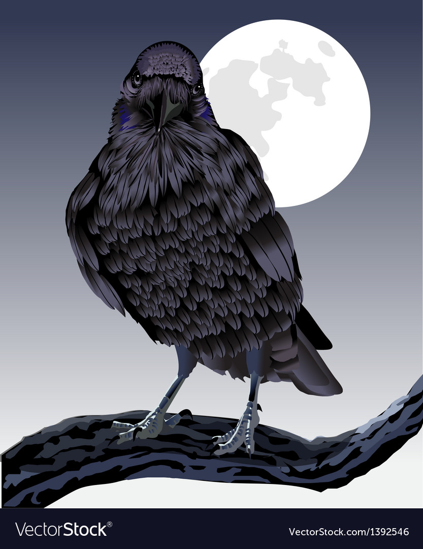 The formidable raven vector | Price: 1 Credit (USD $1)