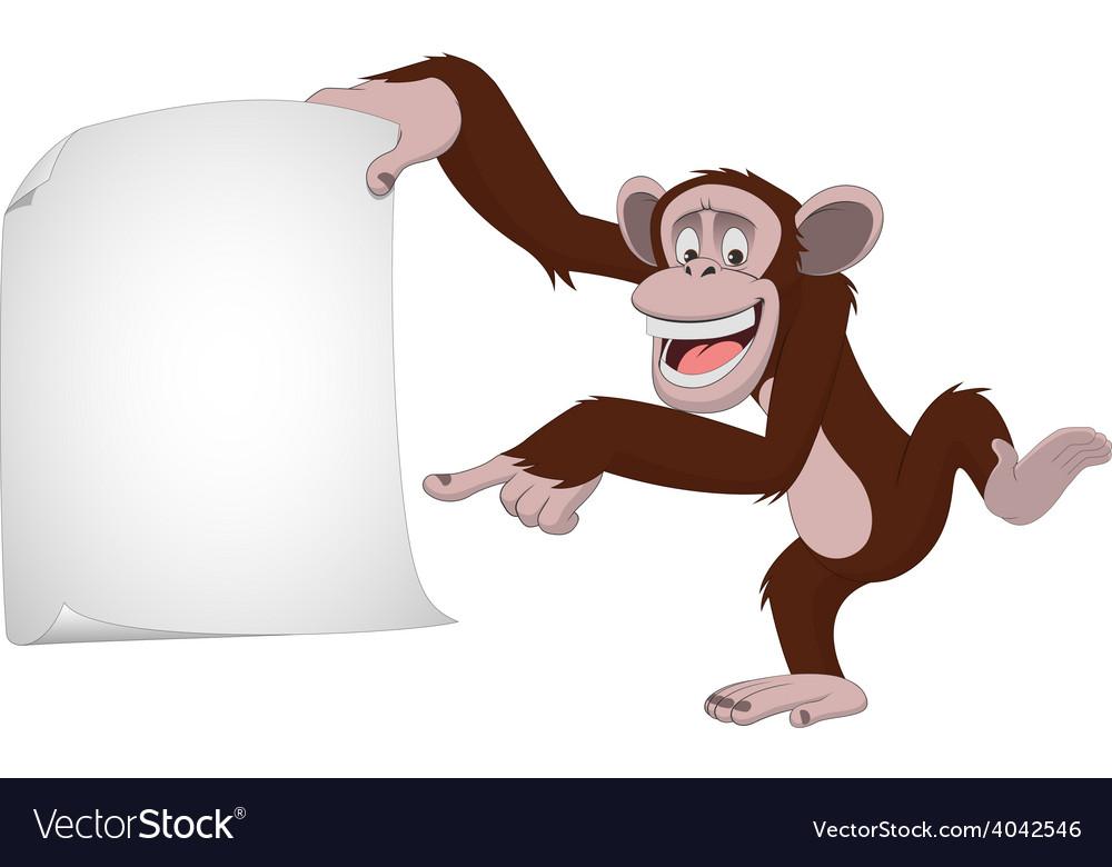 Funny monkey vector | Price: 1 Credit (USD $1)