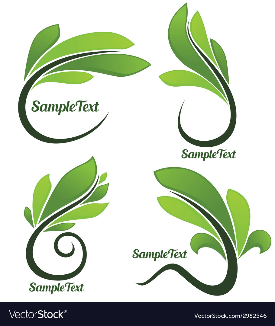 Leaves forms vector   Price: 1 Credit (USD $1)
