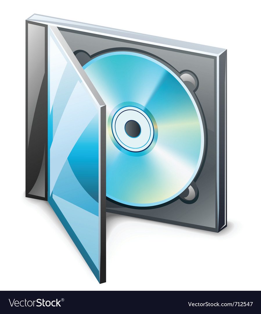 Cd in case vector | Price: 3 Credit (USD $3)