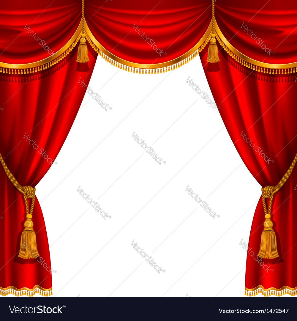 Curtain vector | Price: 3 Credit (USD $3)
