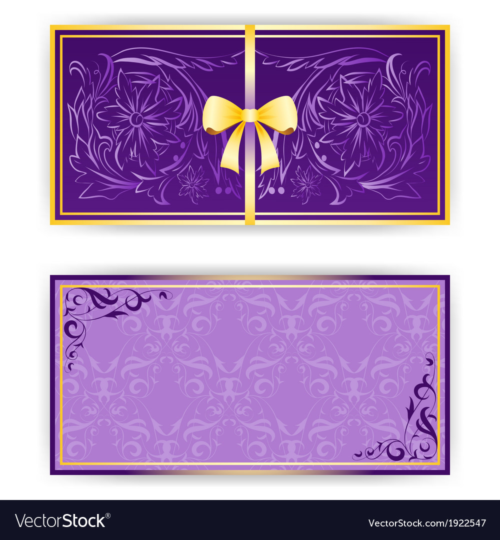 Exquisite template for greeting card invitation vector | Price: 1 Credit (USD $1)