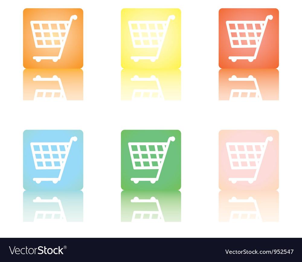 Shopping cart5 vector
