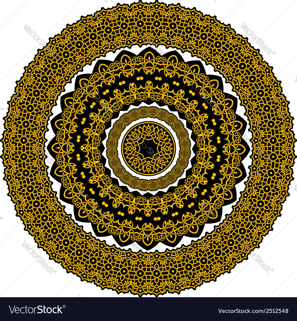 Circle celtic ornament in medieval style vector   Price: 1 Credit (USD $1)