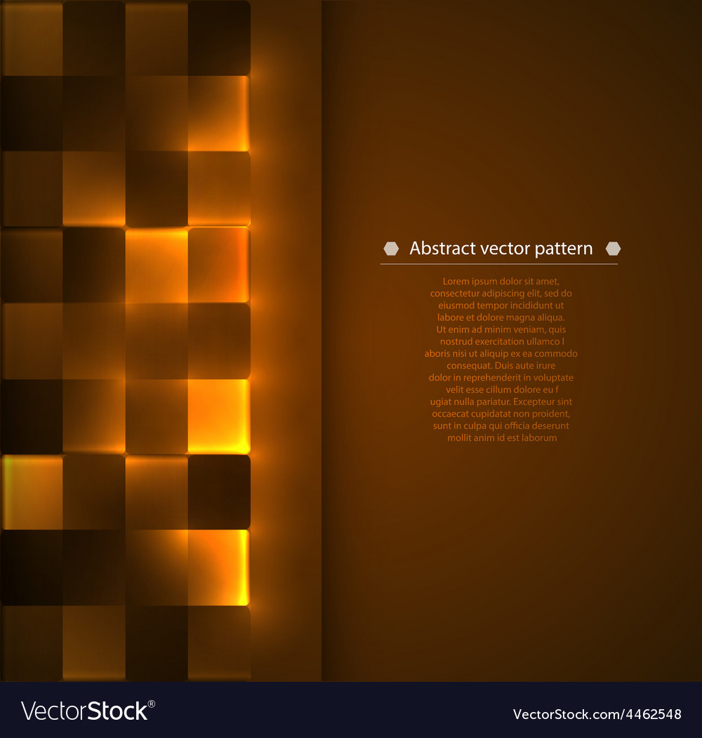 Geometric background with luminous vector | Price: 1 Credit (USD $1)