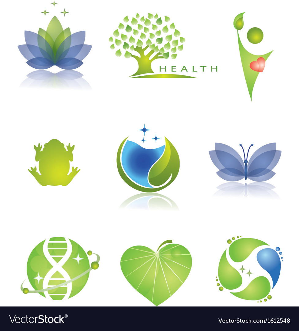 Health care icons set vector | Price: 1 Credit (USD $1)