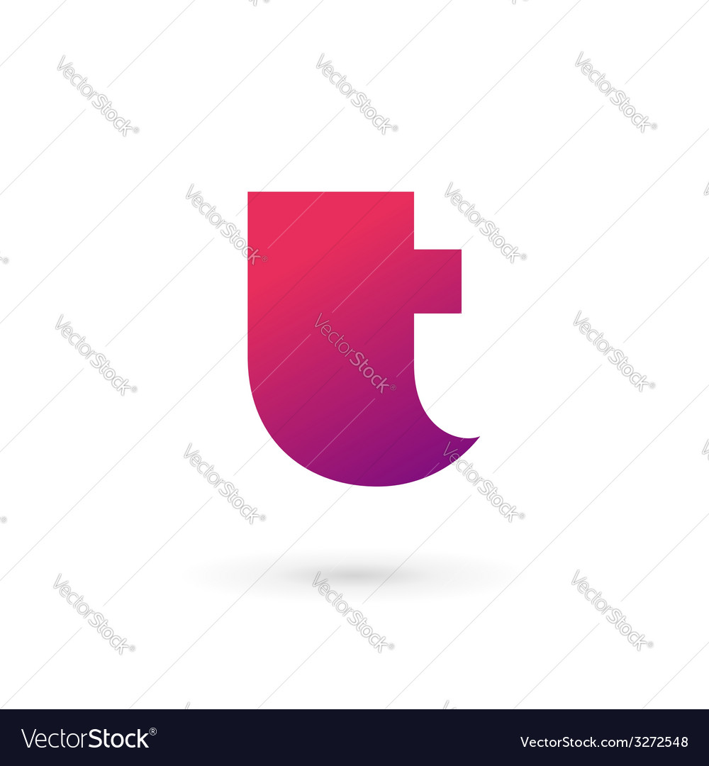 Letter t logo icon design template elements vector | Price: 1 Credit (USD $1)