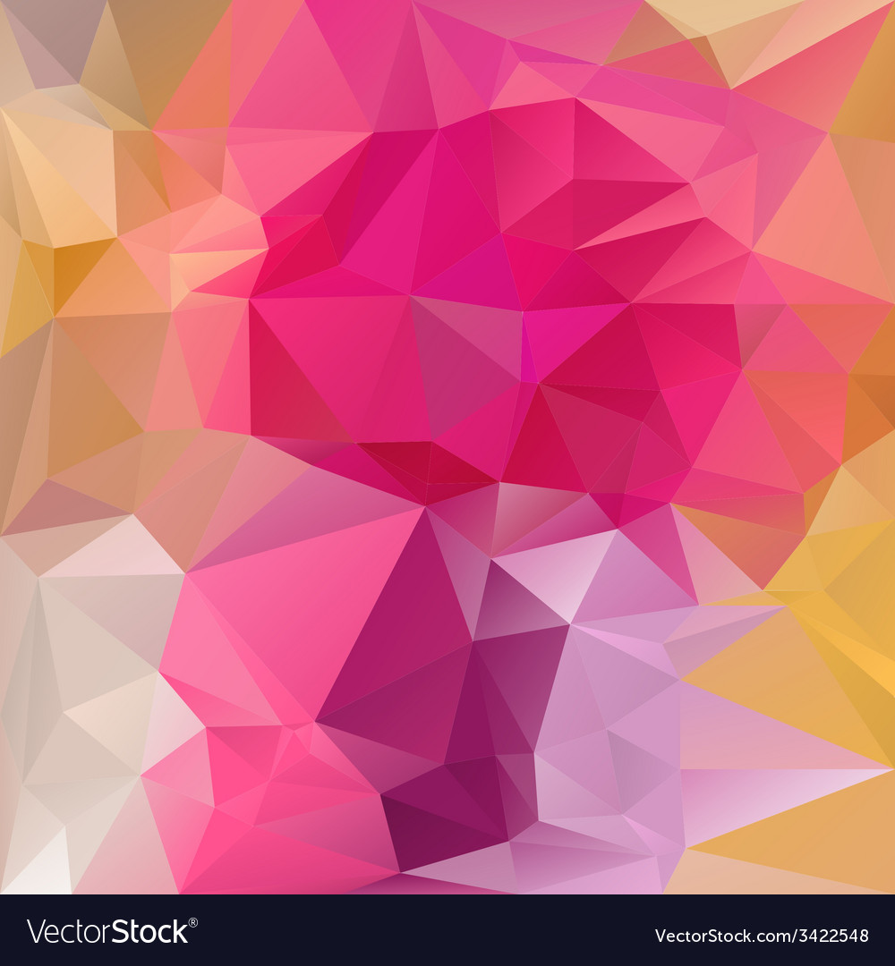 Reflective pink magenta polygonal triangular vector | Price: 1 Credit (USD $1)