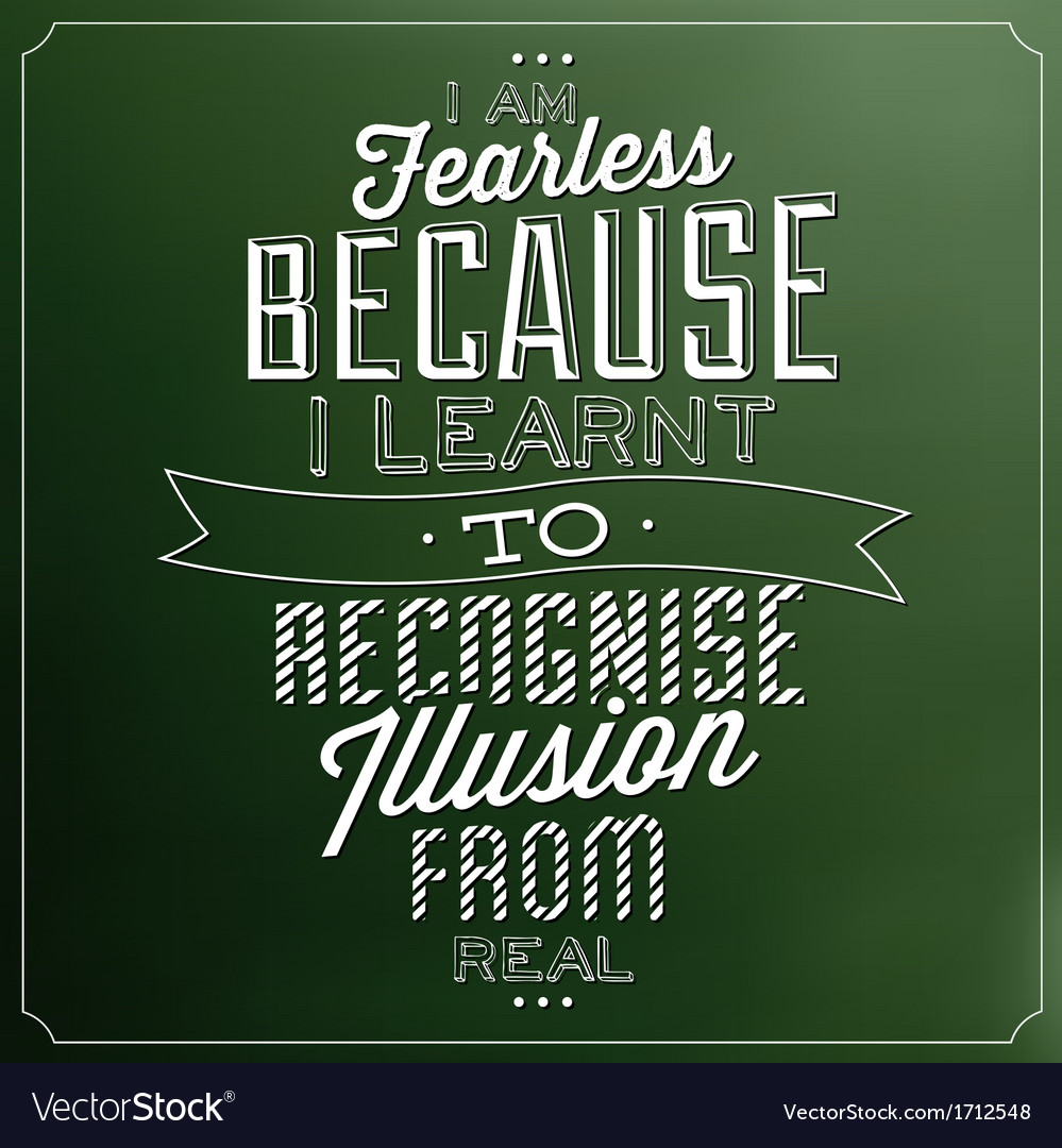 Typographic quote template vintage background vect vector | Price: 1 Credit (USD $1)