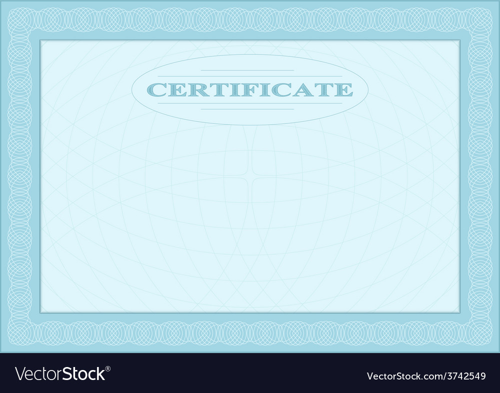 Blue blank document vector | Price: 1 Credit (USD $1)