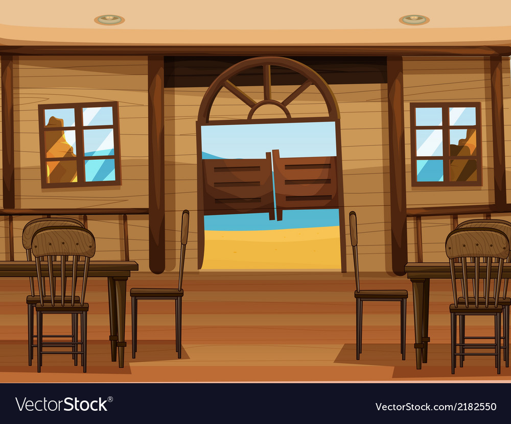 A saloon bar vector | Price: 1 Credit (USD $1)