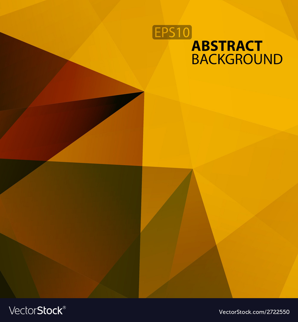Abstract warm geometric background vector | Price: 1 Credit (USD $1)