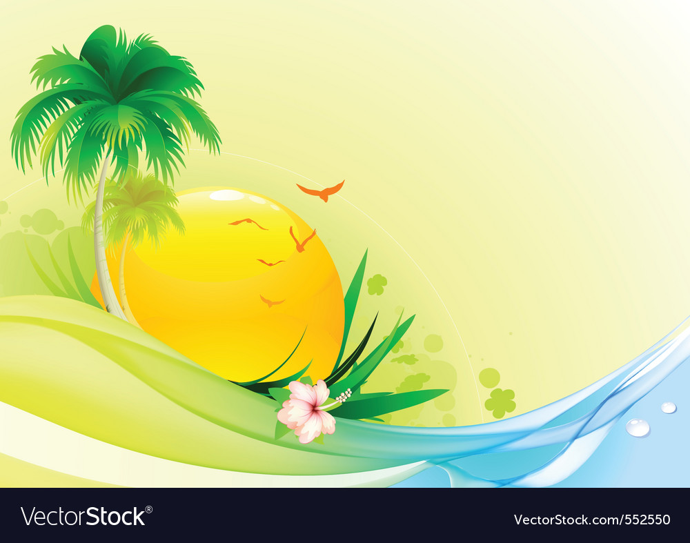 Funky summer vector | Price: 3 Credit (USD $3)