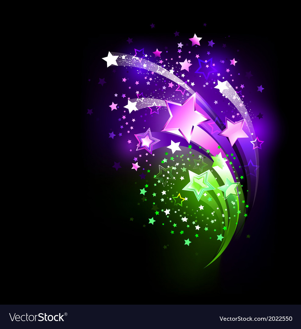 Purple fireworks vector | Price: 1 Credit (USD $1)