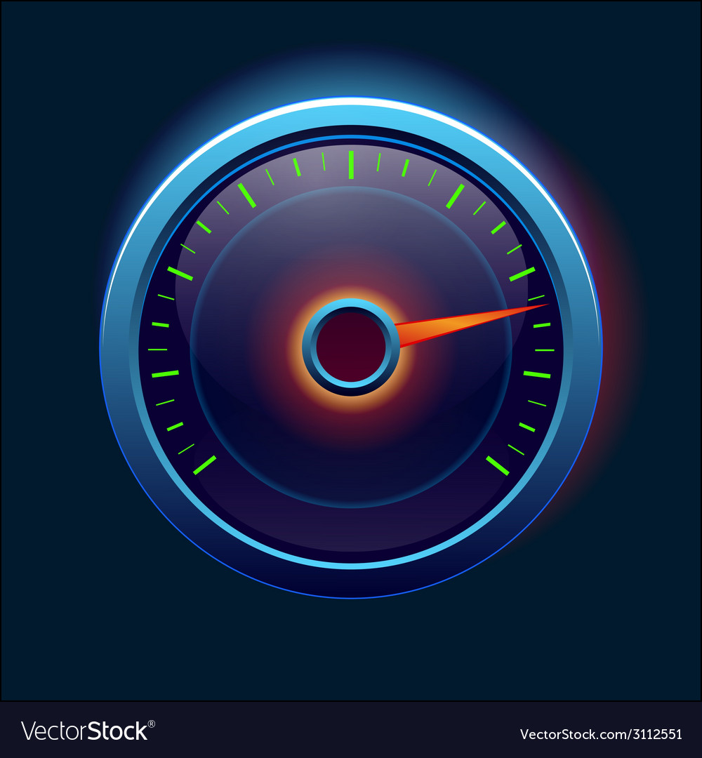 Car speedometer and dashboard vector | Price: 1 Credit (USD $1)