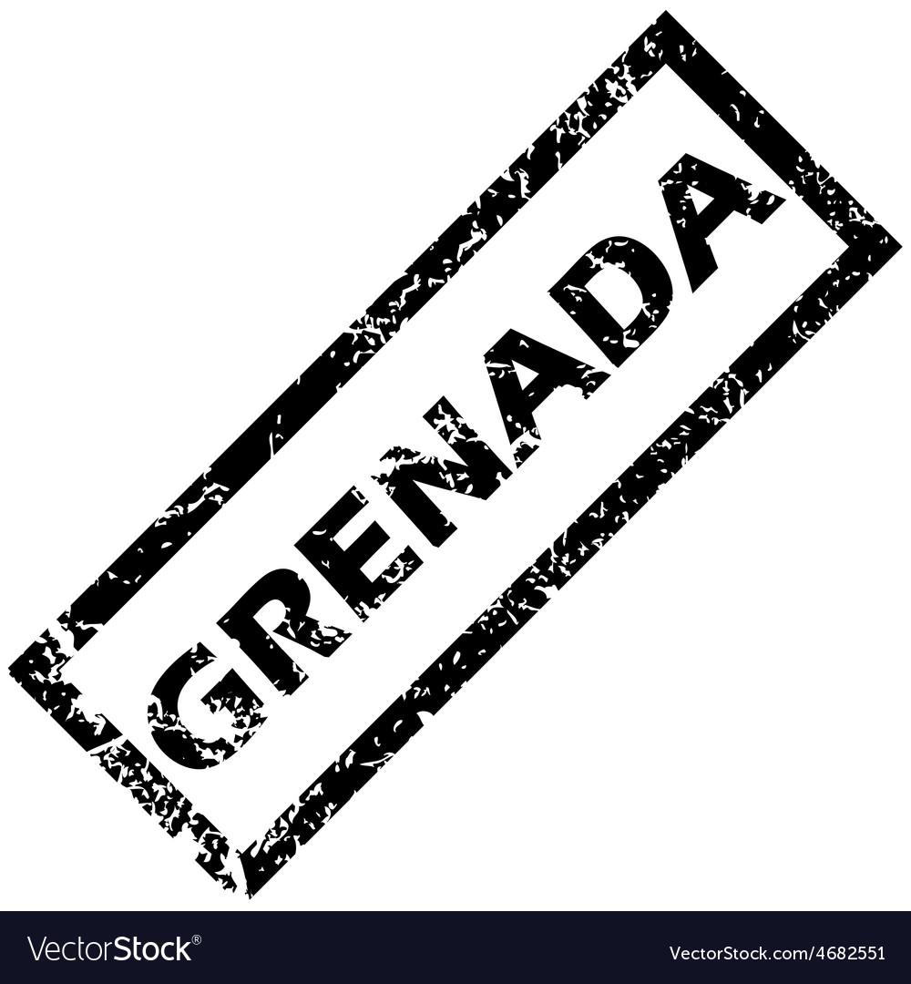 Grenada rubber stamp vector   Price: 1 Credit (USD $1)