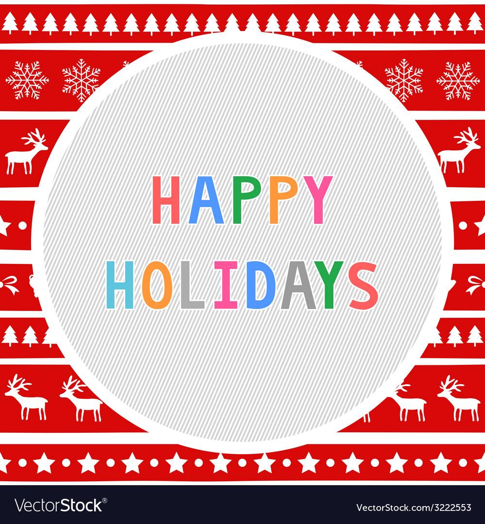 Happy holidays9 vector   Price: 1 Credit (USD $1)
