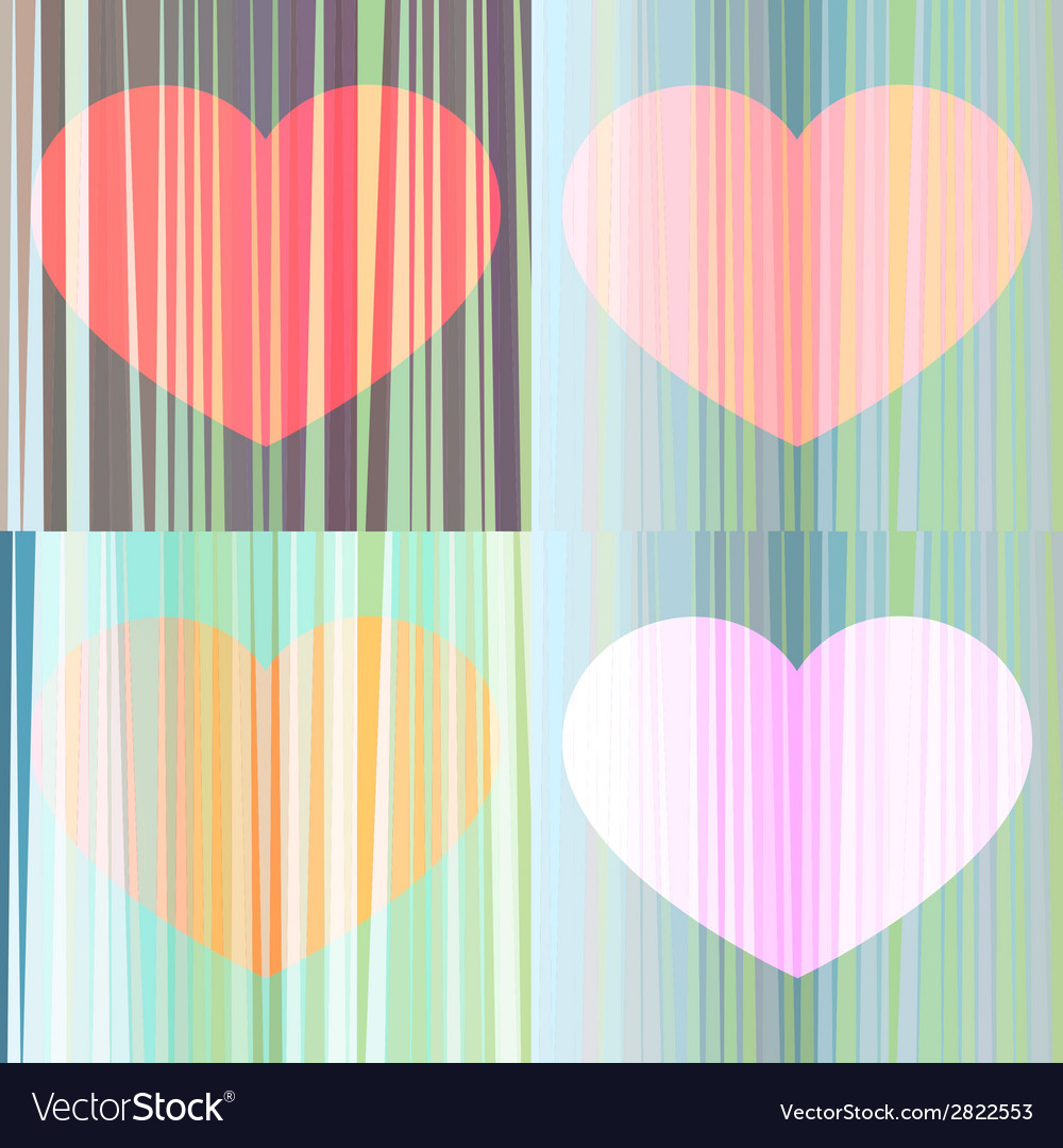 The harmony of the hearts vector | Price: 1 Credit (USD $1)