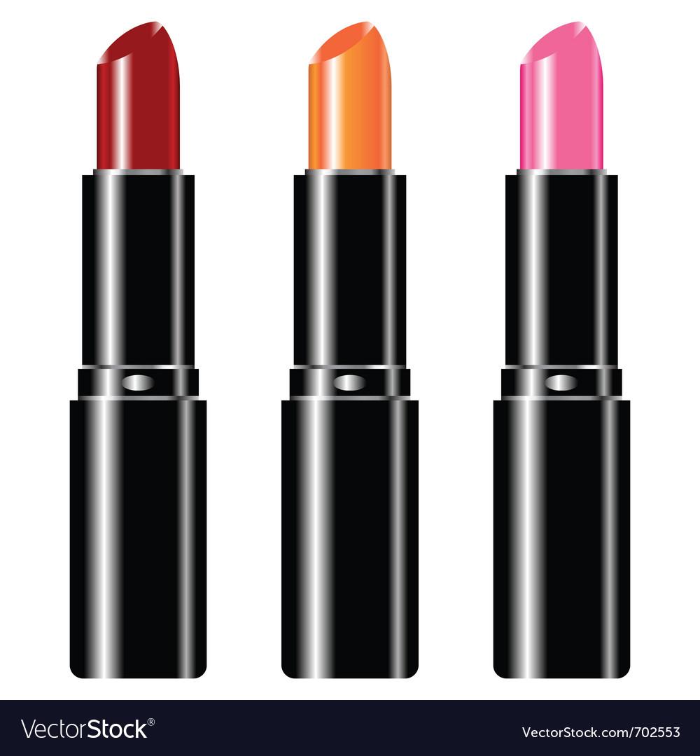 Lipstick set vector | Price: 1 Credit (USD $1)