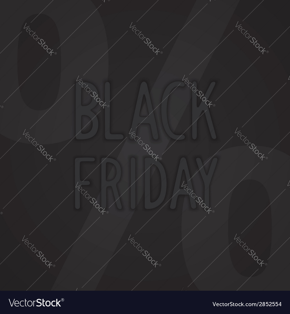 Black friday design vector | Price: 1 Credit (USD $1)