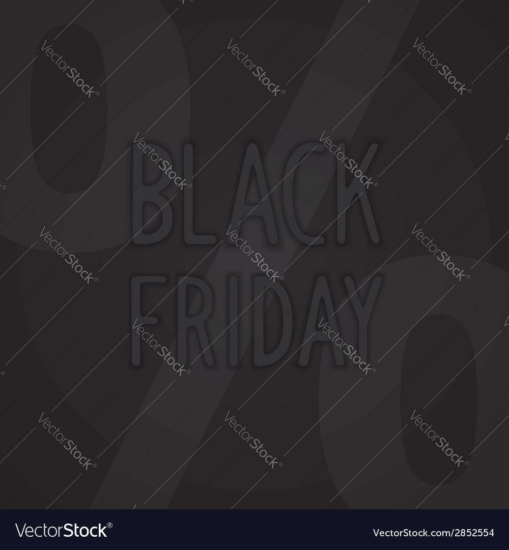 Black friday design vector | Price: 1 Credit (USD $1)