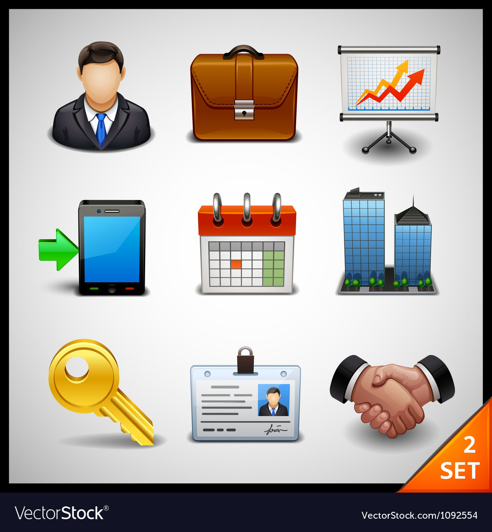 Business icons - set 2 vector | Price: 3 Credit (USD $3)