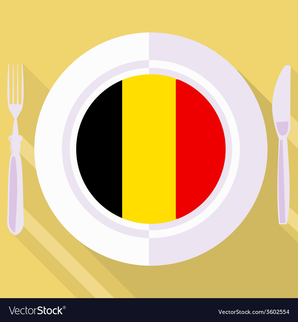 Kitchen of belgium vector | Price: 1 Credit (USD $1)