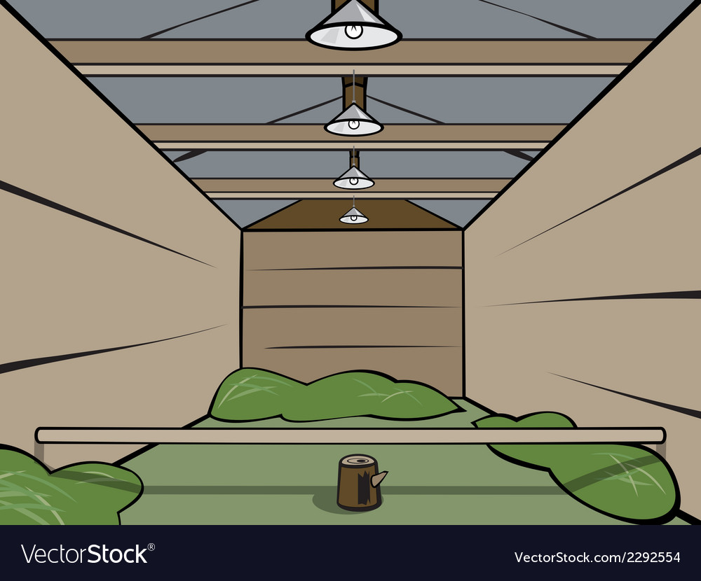Wooden shed vector | Price: 1 Credit (USD $1)