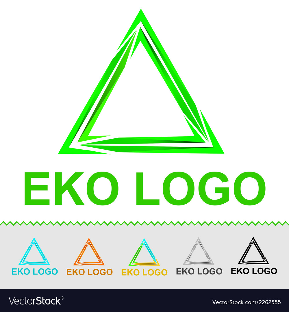 Eco logo for organization or business vector | Price: 1 Credit (USD $1)