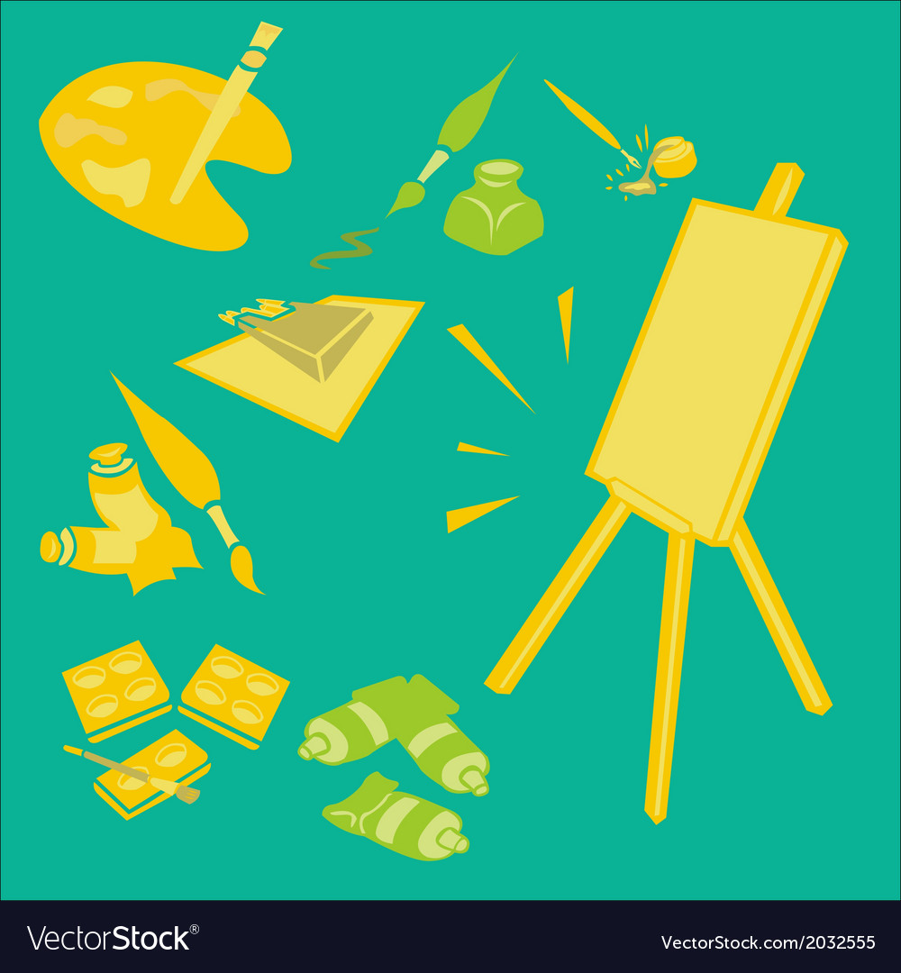 Painttools 2 vector | Price: 1 Credit (USD $1)