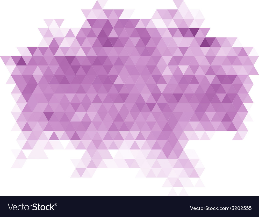 Purple triangle abstract background vector | Price: 1 Credit (USD $1)