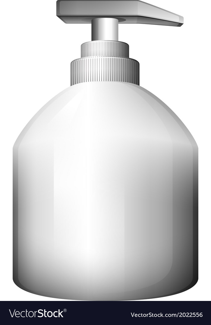 A lotion bottle vector | Price: 1 Credit (USD $1)