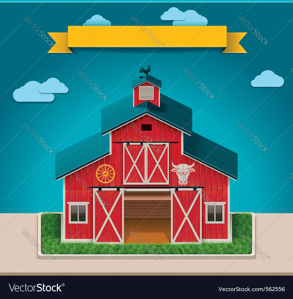 Barn xxl icon vector | Price: 1 Credit (USD $1)
