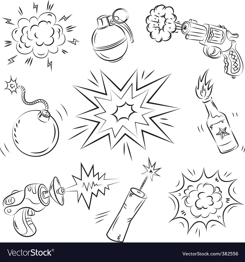 Boom graphics vector | Price: 1 Credit (USD $1)