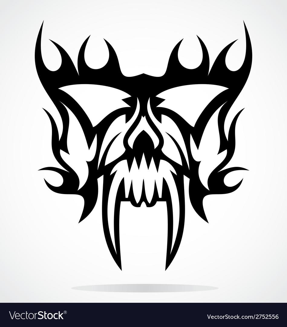 Skull mask vector | Price: 1 Credit (USD $1)