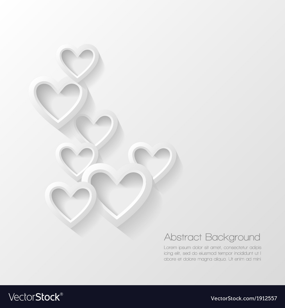 Abstract valentine day background vector | Price: 1 Credit (USD $1)