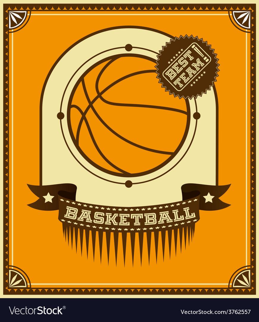 Basketball icon design vector | Price: 1 Credit (USD $1)