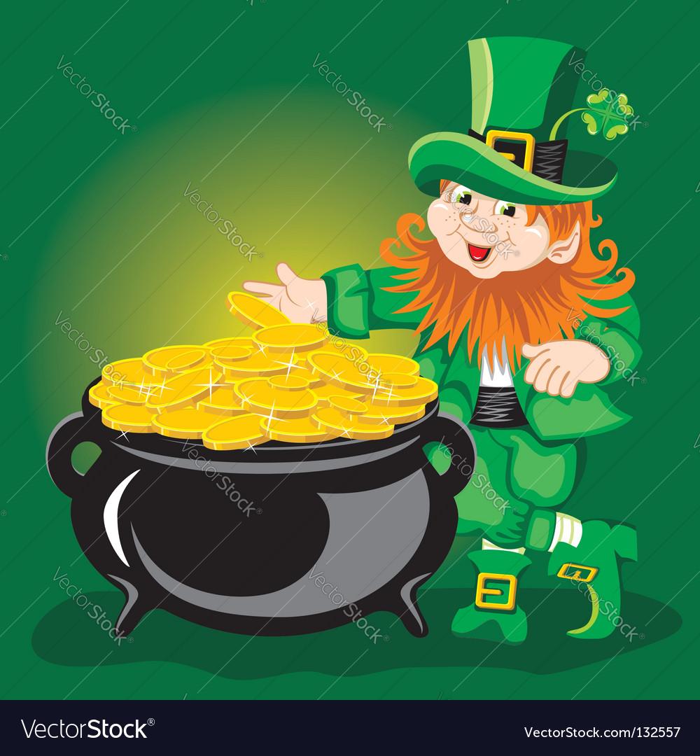 Leprechaun vector | Price: 1 Credit (USD $1)