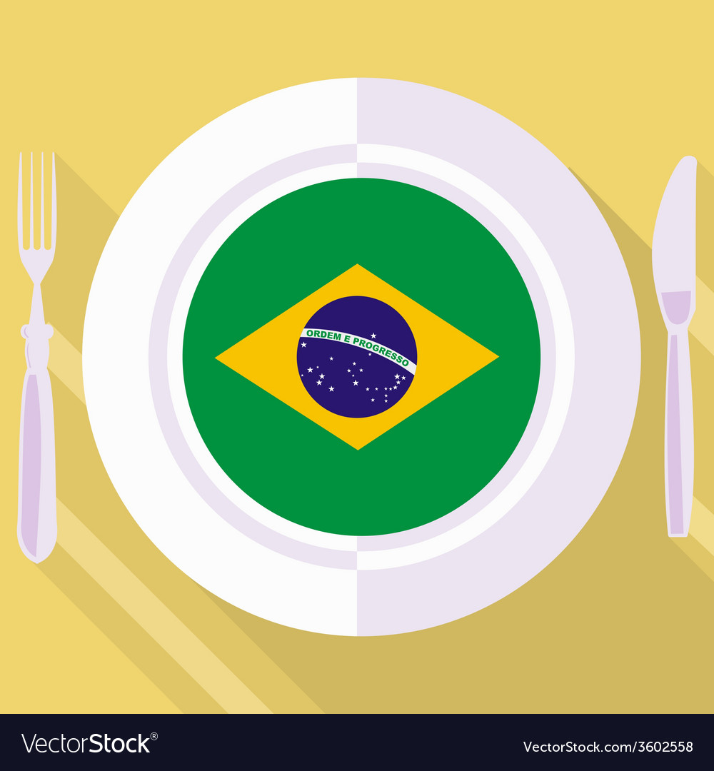 Kitchen of brazil vector | Price: 1 Credit (USD $1)
