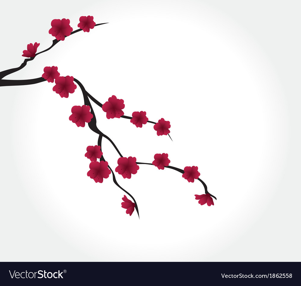Red flower vector   Price: 1 Credit (USD $1)