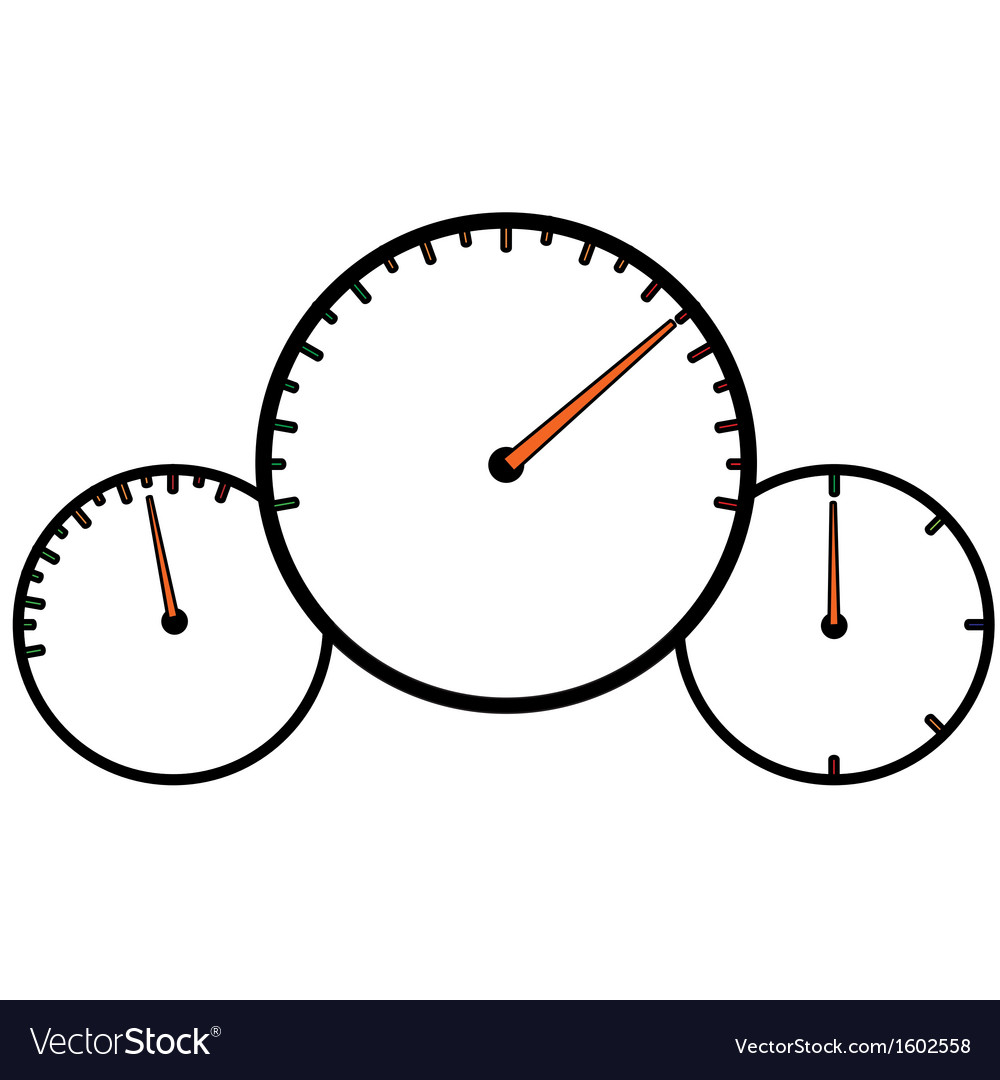 Speedometer design vector   Price: 1 Credit (USD $1)