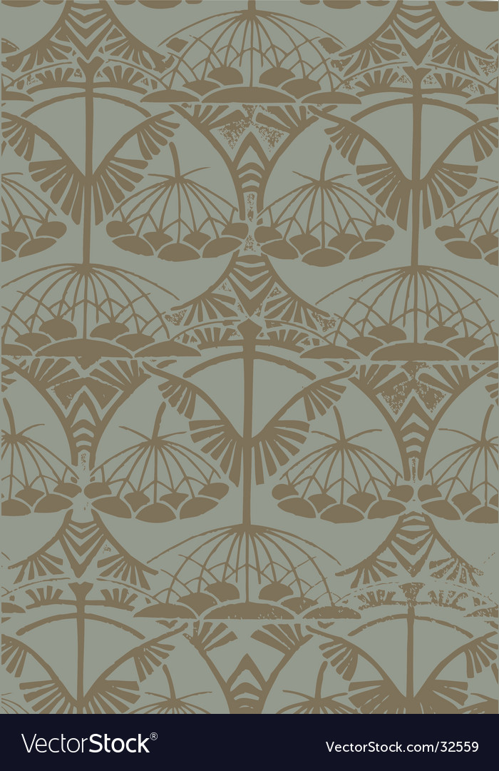 Art nouveau pattern vector | Price: 1 Credit (USD $1)