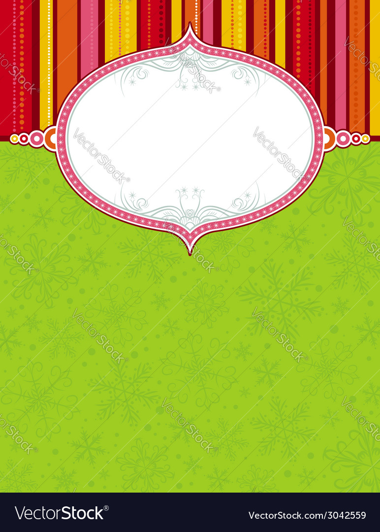 Color background with christmas elements vector   Price: 1 Credit (USD $1)