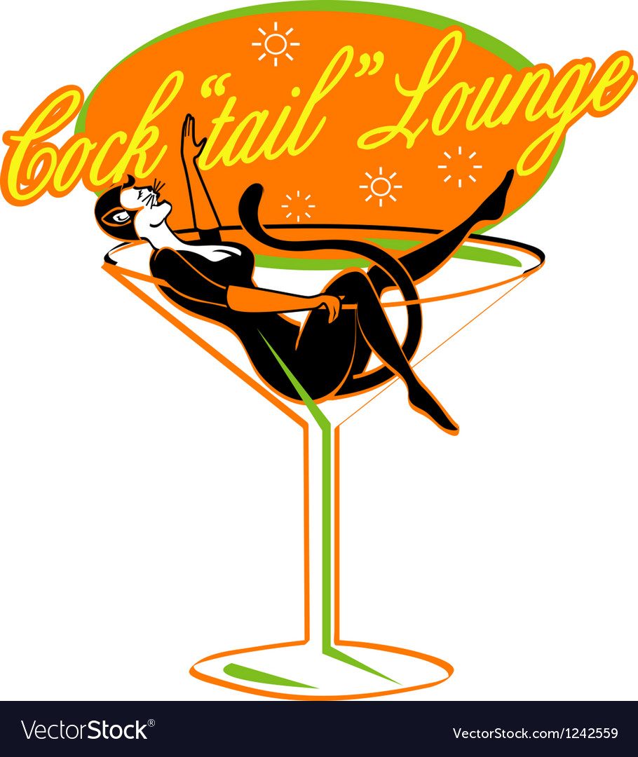 Pin up lounge girl vector | Price: 1 Credit (USD $1)