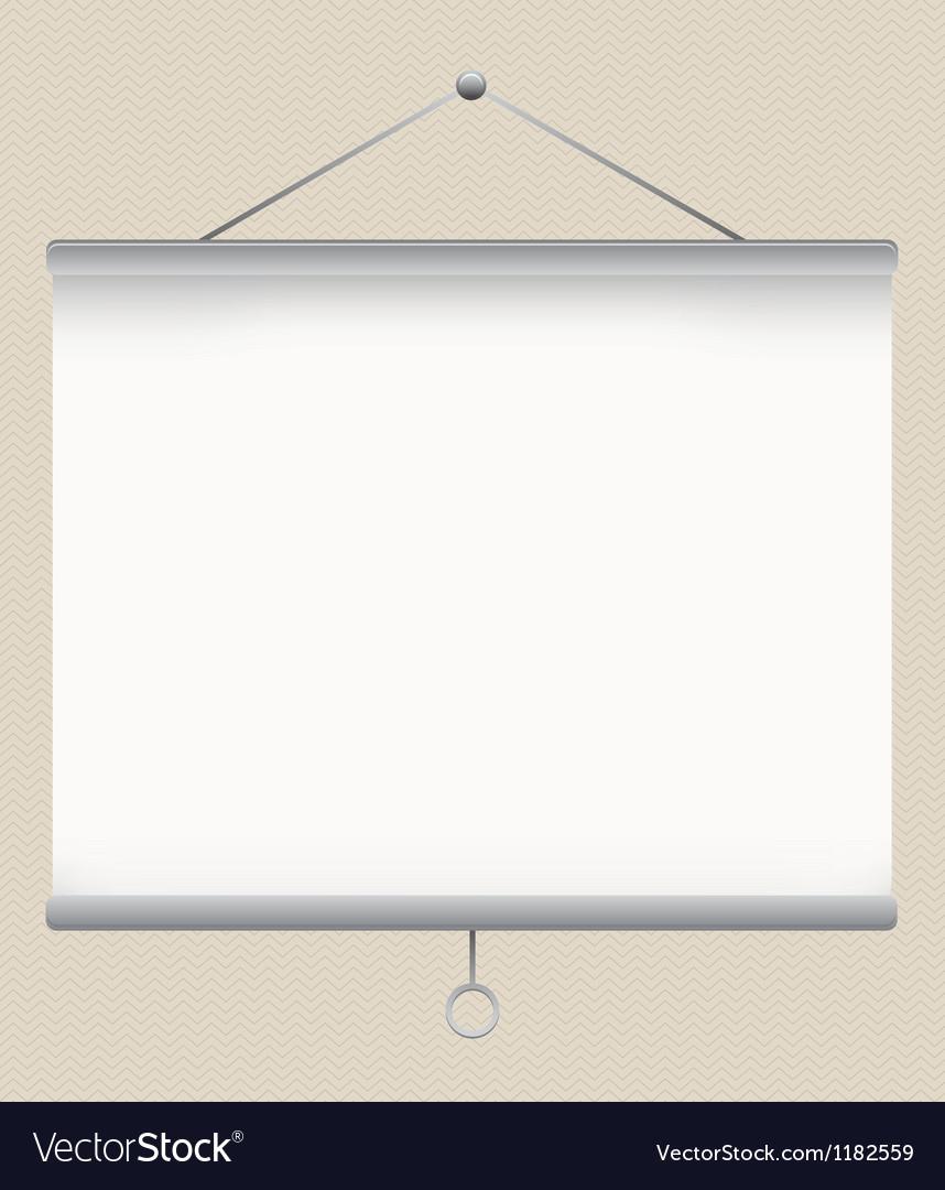 Projector screen vector   Price: 1 Credit (USD $1)