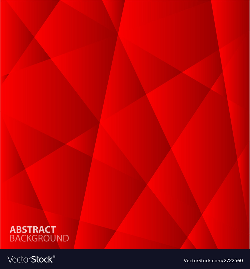 Abstract red geometric background vector | Price: 1 Credit (USD $1)