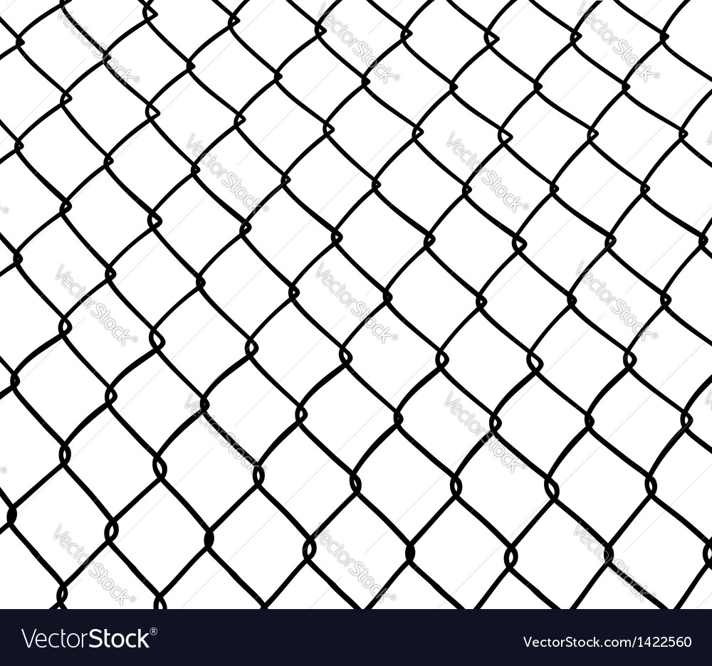 Chainlink fence vector | Price: 1 Credit (USD $1)